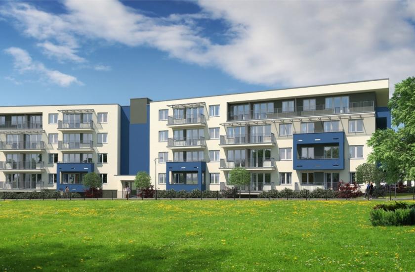 nowe mieszkania w Nowej Hucie - Kraków ulica Niebyła