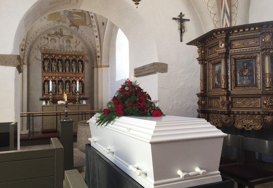 Zorganizowanie pogrzebu